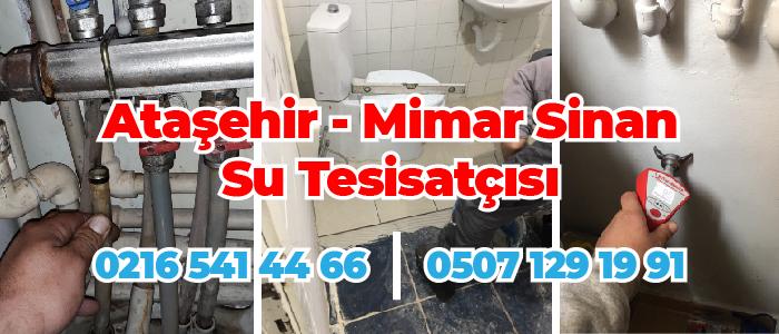 Ataşehir Mimar Sinan Su Tesisatçısı