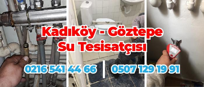 Kadıköy Göztepe Su Tesisatçısı