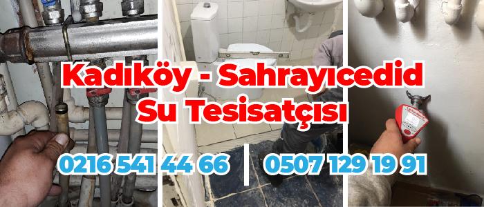 Kadıköy Sahrayıcedid Su Tesisatçısı