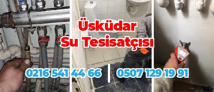 Üsküdar Murat Reis Su Tesisatçısı